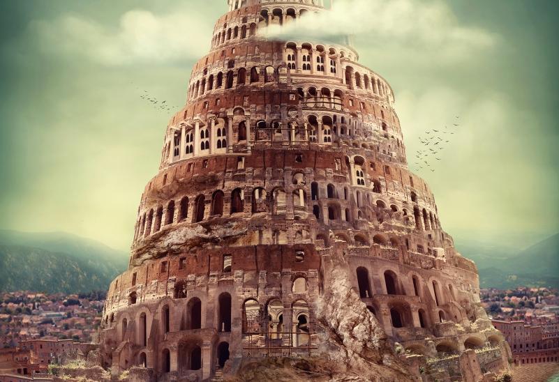 Babel. Ein Wort, ein Zeichen.